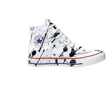 #Converse Chuck Taylor All Star Chucks 113861 Paint Drops Splash
