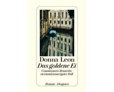 """Donna Leon erzählt über ihren Krimi """"Das goldene Ei"""""""