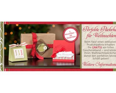 Das Stampin´ Up! Weihnachts - Angebot ist da!