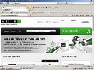 Verlag gesucht: GRIN ist für viele Autoren eine gute Adresse