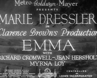 Tonfilm-Seitensprung: Marie Dressler trägt den Film
