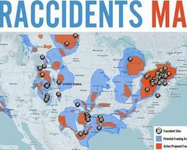"""""""FRACCIDENTS"""" – Eine interaktive Karte der Fracking-Unfälle in den USA"""