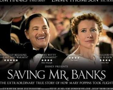 Review: SAVING MR. BANKS – Tom Hanks weiß um den Wert von Versprechen