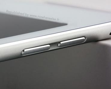 Sehen wir hier das iPad Air 2 mit Touch ID?