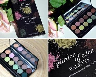 [Review]: Sleek Garden of Eden Palette inkl. Swatches und AMUs