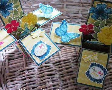Card in a box: Gartenparty mit Secret Garden