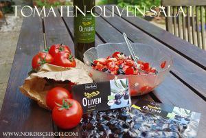 Oliven Tomaten Salat – purer Genuss