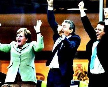 Welche Ausgabe Deutschlands bejubelt Merkel?