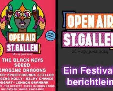 Festivalbericht: So war das Openair St. Gallen 2014
