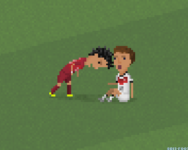 8-bit Football: Die besten Szenen der Fußball-Weltmeisterschaft 2014