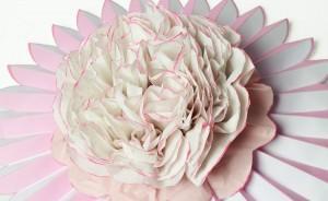 Comeback der Romantik: Blumen aus Seidenpapier