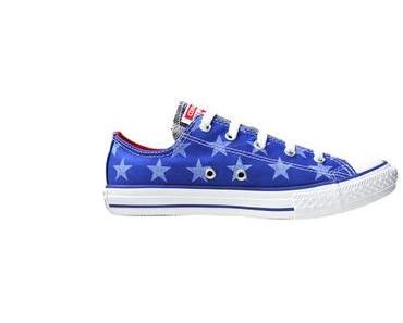 #Converse All Star Chuck Taylor Chucks 642834 Blau OX Sterne