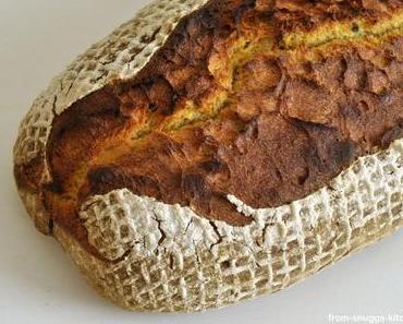 Süsskartoffel-Brot mit Kürbiskernen und Buttermilch
