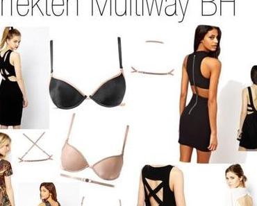 Fashiontrends 2014! Sexy Back – Rückenfrei im perfekten Multiway BH