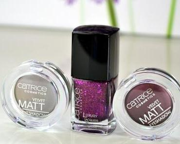 Catrice It Pieces: Velvet Matt Eyeshadows und Luxury Lacquer
