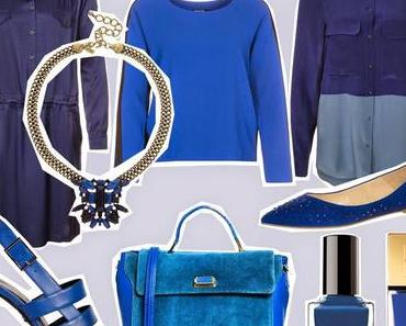 Summer Sale Shopping: Blau