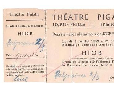 """Lesung aus Joseph Roths Roman """"Hiob"""" und anschließendes Gespräch"""