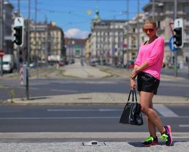 Nike neon sneakers