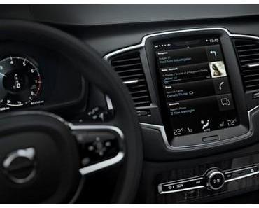 Volvo XC 90 bietet CarPlay und Android Auto Integration
