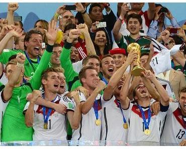 Deutschland ist Weltmeister - Rihanna feierte mit Götze, Klose und Co.!