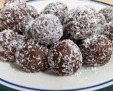 Kokos-Schokobällchen