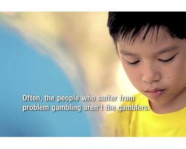 Kampagne gegen Spielsucht aus Singapur