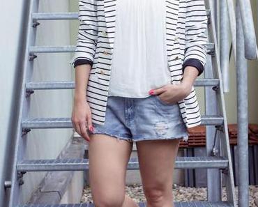 Die Jeans Shorts von Zara