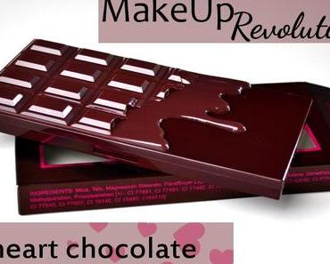 MakeUpRevolution I love MakeUp I heart chocolate Palette