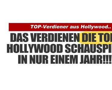 Die Top Verdiener aus Hollywood