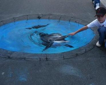 Unglaubliche Straßen-Kunst-Malerei  (von Nikolaj Arndt)