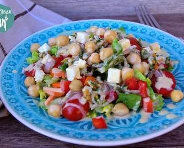 [Ju] Sportlicher Kichererbsen-Salat {Rezept}