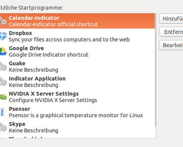 [Ubuntu] Befehle bei Systemstart ausführen