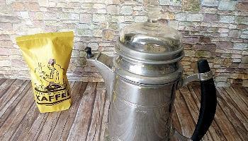 Die Bing Bokka Kaffeemaschine