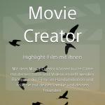 Neue Sony App | Movie Creator