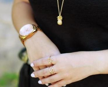 OUTFIT | Golden Details