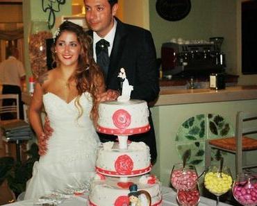 Einen Monat später: Die Hochzeitstorte