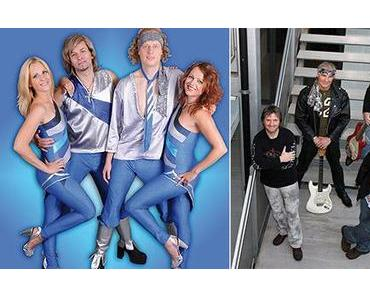 Doppel-Bergwelle: ABBA-The Real Tribute & Dire Straits Project