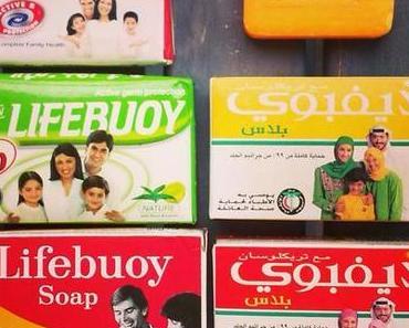Lifebuoy soap von Unilever. Bilder aus unserer Seifensammlung