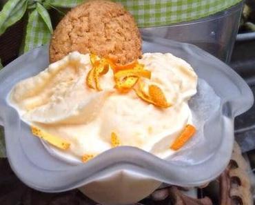 Orangen Eis