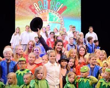 TV Star führte durch Kindermusical Farbtasia - Mariella Ahrens: Bühnenauftritt auf AIDA Kreuzfahrt
