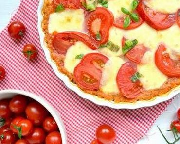 dinner-dienstag // quinoa-caprese-auflauf