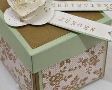 Spektakuläre Hochzeitsbox