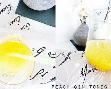 Peach Gin Tonic