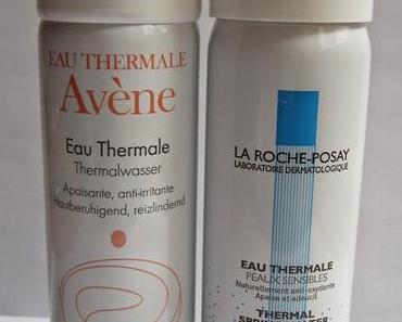 Avène & La Roche-Posay Thermalwasser im Vergleich