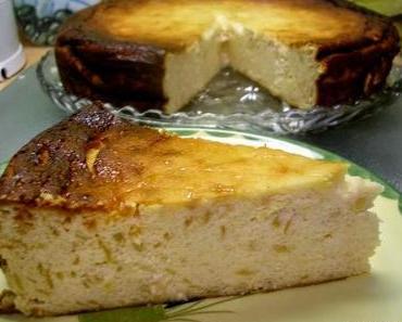 Apfel-Quark-Kuchen ohne Boden