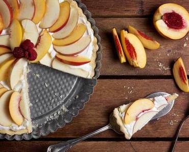 Nektarinen-Apfel-Tarte