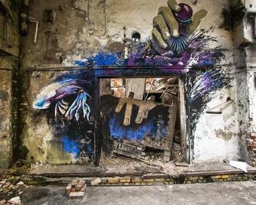 IBUg 2014: Urbane Kunst trifft sächsische Industriekultur