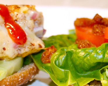 Food Friday: Healthy Cheese-Burger Alternative