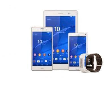 Sony Xperia Z3, Z3 Compact und Z3 Tablet Compact: Jetzt bei Amazon vorbestellen