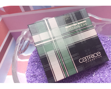 [NEU] Review & Swatches: Limited Edition: Catrice Check & Tweed Quattro Baked Eyeshadow 01 London's Eye